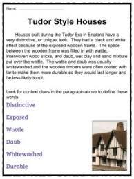 tudor houses facts worksheets u0026 information for kids