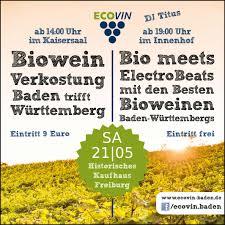 Baden Messe Freiburg Biowein Aus Baden Und Württemberg Weinland Baden Aktuell