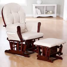 White Glider Rocking Nursery Chair White Gliding Chair With Ottoman House Plan And Ottoman