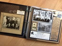 photo album scrapbook scrapbooking heritage album in progress memory bound