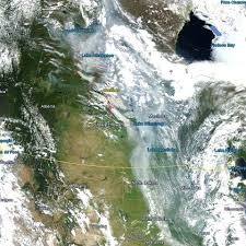 Saskatchewan Wildfire Evacuations by Smoke Pouring Into U S From Canadian Wildfires Roy Spencer Phd