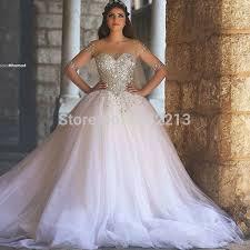 Princess Style Wedding Dresses Aliexpress Com Buy Said Mhamad Wedding Dress Ball Gown Wedding