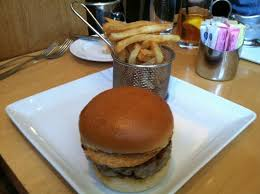 ahi tuna burger picture of central michel richard washington dc