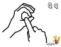 big boss british sign language bsl free sign language coloring