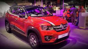 renault kwid red colour modified renault kwid at auto expo 2016 carblogindia
