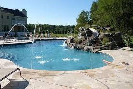 Pool Backyard Design Ideas Triyae Com U003d Backyard Plans With Pools Various Design