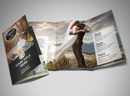 Wedding Pamphlet Template Wedding Photography Package Brochure Template Mycreativeshop