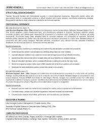 Sample Electronics Engineer Resume by Residential Structural Engineer Sample Resume Uxhandy Com