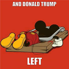 Mickey Mouse Meme - mickey mouse will not last trump s presence donald trump know