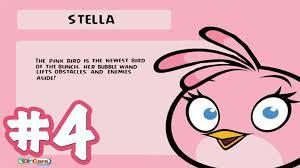angry birds stella 34 46 wall of pigs boss 4 level walkthrough