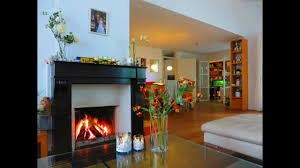 rainy autumn day cozy at home by the fireplace youtube