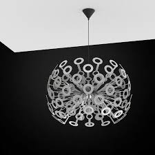 3d dandelion lamp moooi high quality 3d models
