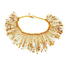 handmade necklace design images 22k gold handmade necklace without stones unique design by niki jpg