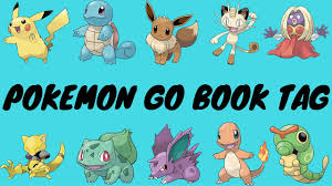 pokemon go book tag youtube
