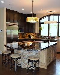 Kitchen Island Counters Custom Designed Kitchens Portfolio Cabinets And Counters