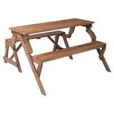 Folding Picnic Table To Bench Picnic Tables You U0027ll Love Wayfair