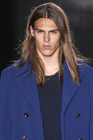male models with long straight hair fall winter 2017 male hairstyles hairstyles 2018 new haircuts