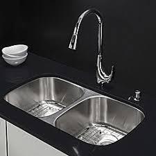 stainless steel double sink undermount kitchen sinks sears