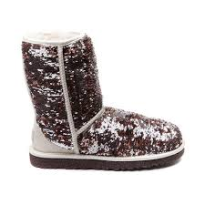 womens boots journeys ugg sparkle boot chagne at journeys shoes