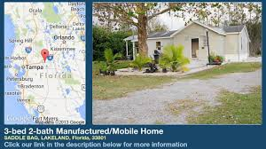 4 Bedroom 2 Bath Houses For Rent by 3 Bed 2 Bath Manufactured Mobile Home For Sale In Lakeland