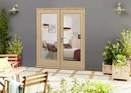 Solid Wood Interior French Doors White French Doors Interior Empty House With New Hardwood Floor