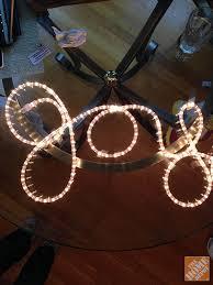 diy decor joyful rope light sign