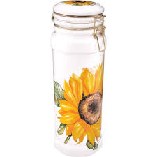 sunflower canisters for kitchen 1842 best sunflower for the kitchen images on