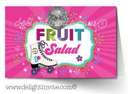 80 u0027s retro roller skate birthday party invitation di 209