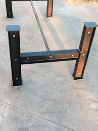 Coffee Table Bases Table Metal Table Bases For Wood Tops Wood Table Bases For