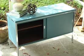 Painted Mid Century Furniture by Mid Century Modern Tv Console Buffet U2013 Simplevintage With Scout