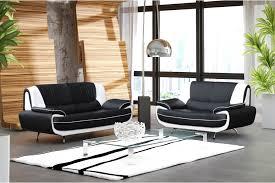 canapé design noir et blanc canapé design 3 2 bregga noir blanc noir gris blanc chocolat