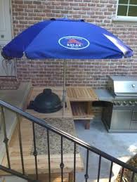 sit around grill table stone and concrete table big green egg egghead forum the