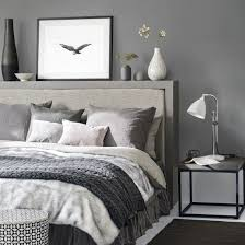dark grey bedroom this dark grey bedroom with cosy bed linen create a relaxing space