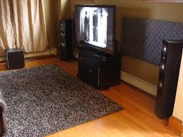 Home Theater Rug Sound Absorption Rug Creative Rugs Decoration