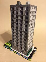 micro lego office building w underground parking this is u2026 flickr