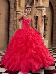 quinceanera dresses coral ruffles organza with beading design coral quinceanera dress