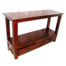 wood console hall entry foyer table furniture