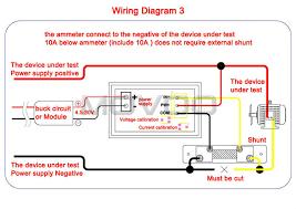 dc 100v 50a 2in1 led meters dc volt meters amp ampere gauge 2in1