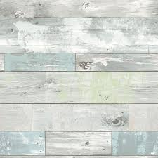 Wood Wall Covering by Shop Brewster Wallcovering Peel And Stick Blue Vinyl Wood At Lowes Com