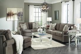 gilman charcoal sofa set ashley furniture queen katy