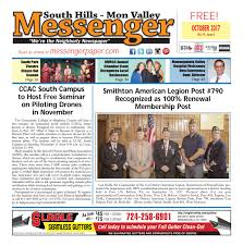 south hills mon valley messenger december 2016 by south hills mon
