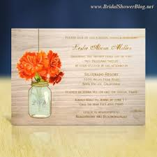 make your own bridal shower invitations country bridal shower invitations bridal shower