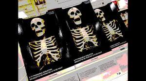 halloween posable skeleton michaels halloween 2017 youtube