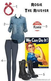 Rosie Riveter Halloween Costume 5 Cute U0026 Easy Halloween Costume Ideas Bri Galloway