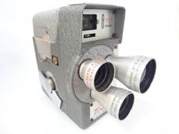 old movie camera vintage antique 8mm display home decor from