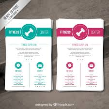 fitness brochure template 25 fitness gym brochure templates