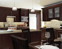 brown walnut cabinet kitchen kitchen cabinets wall color