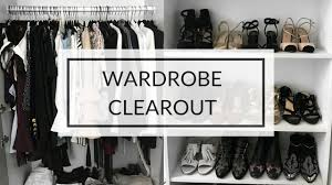 come do a spring wardrobe clear out with me organization tips