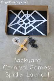 backyard carnival games spider launch backyard carnival