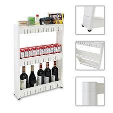 cuisine rangement bain todeco étagère sur roulettes pour cuisine ou salle de bain